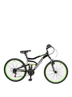 Muddyfox Delta Dual Suspension Boys Mountain Bike 24 inch Wheel