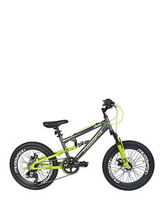 Muddyfox Utah Dual Suspension Boys Mountain Bike 20 inch Wheel