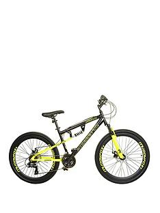 Muddyfox Nevada Dual Suspension Mens Mountain Bike 18 inch Frame
