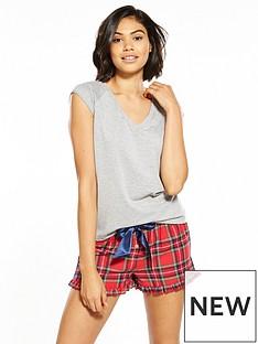 v-by-very-tartan-check-fashion-short-set-with-t-shirtnbsp