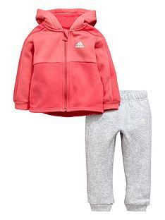 adidas-adidas-baby-girl-fz-fleece-hooded-linear-suit