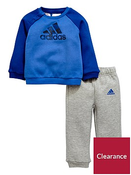 adidas-adidas-baby-boy-crew-neck-fleece-jog-suit