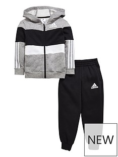 adidas-toddler-boy-fz-fleece-hooded-suit