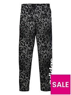 adidas-older-girl-linear-printed-legging