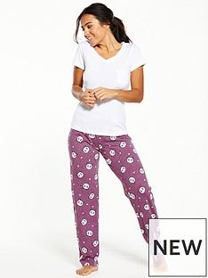 v-by-very-panda-print-pyjamas