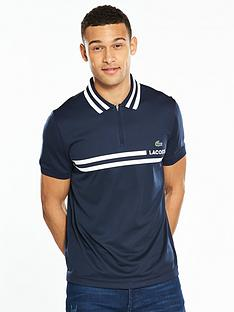 lacoste-sport-striped-collar-polo
