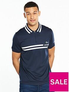 lacoste-sport-striped-collar-polo