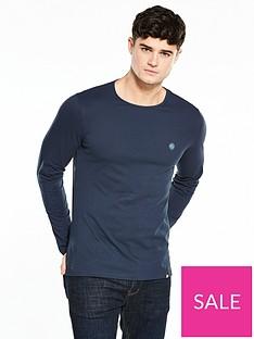 4fc3ca9cc7 Pretty Green Pretty Green Mitchell Long Sleeve T Shirt