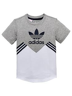 info for a8163 a8038 adidas Originals Baby Boy Panel Tee