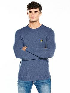 lyle-scott-lyle-amp-scott-lambswool-blend-jumper