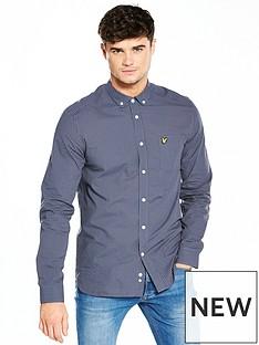 lyle-scott-lyle-amp-scott-mini-check-shirt