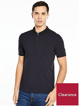 fred-perry-matt-tipped-collar-pique-polo