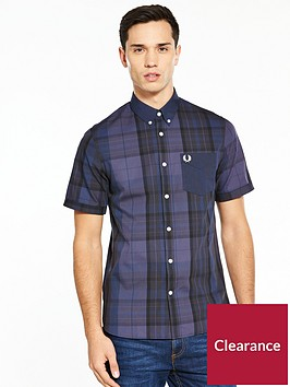 fred-perry-fred-perry-tonal-tartan-short-sleeve-shirt