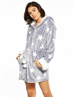 v-by-very-zip-through-shearling-trim-robe