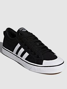 cheaper d8c30 e1fa3 adidas Originals Nizza - Black White