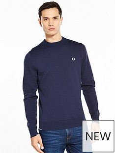 fred-perry-twin-tipped-crew-neck-jumper