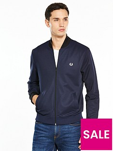 fred-perry-bomber-neck-track-jacket
