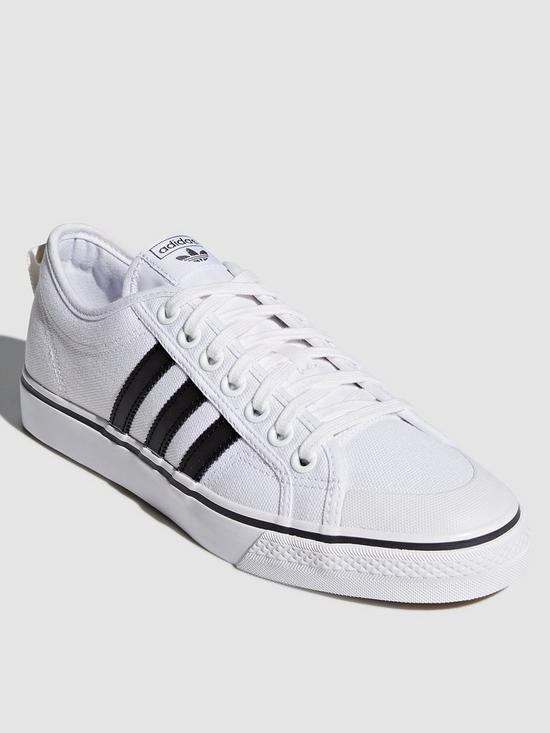 Adidas Nizza Trainers White Mono Adidas shoes for shop,Most