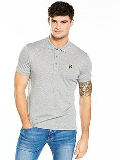 lyle-scott-lyle-amp-scott-flecked-polo-shirt