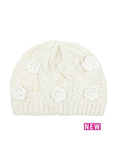 monsoon-baby-daisy-knitted-beanie