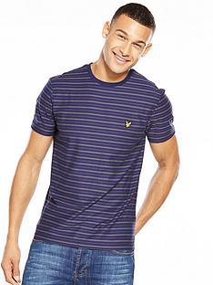 lyle-scott-lyle-amp-scott-bungee-stripe-t-shirt
