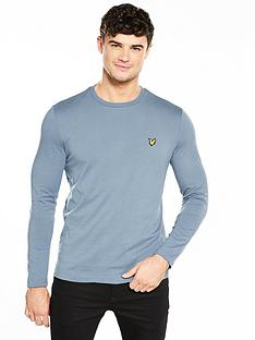 lyle-scott-lyle-amp-scott-plain-long-sleeved-t-shirt