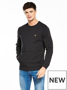 lyle-scott-lyle-amp-scott-front-pocket-sweatshirt