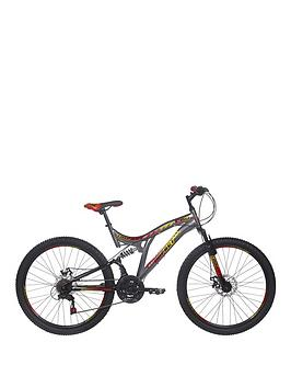 Image of RAD Impact Dual Suspension Mens Mountain Bike 18 inch Frame, Multi, Men