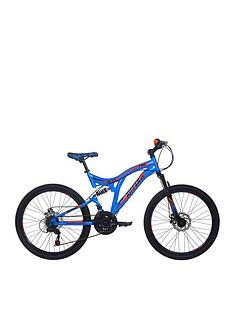 RAD Ripper Dual Suspension Boys Mountain Bike 24 inch Wheel