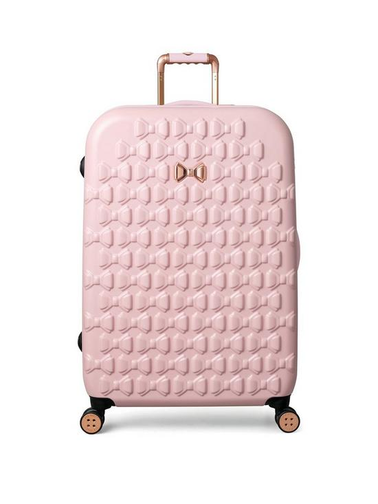 a6a66eda4a12 Ted Baker BEAU Pink 4 Wheel Large Case