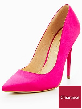 office-on-tops-satin-court-shoes-pink