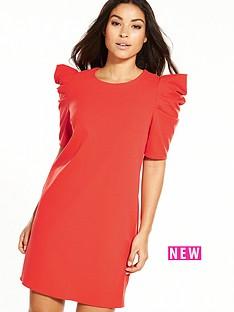 miss-selfridge-puff-sleeve-dress