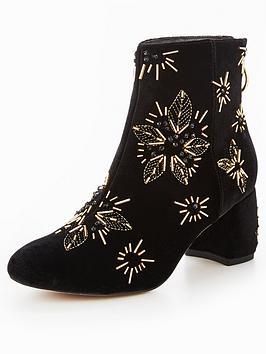 Office Arch Enemy Velvet Sock Boot