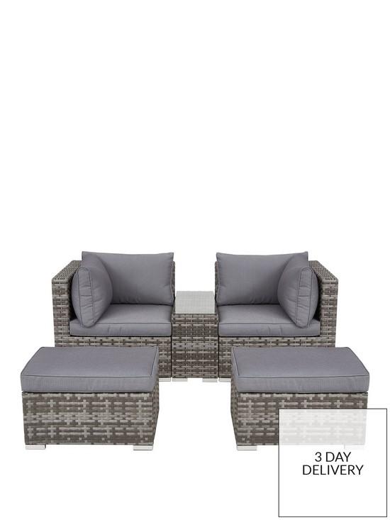 Aruba Outdoor 2 Seater Modular Sofa Set