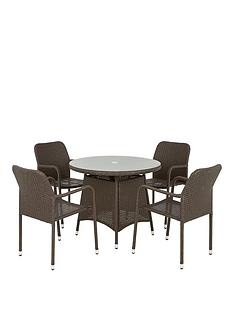 genoa-rattannbsp5-piece-dining-set