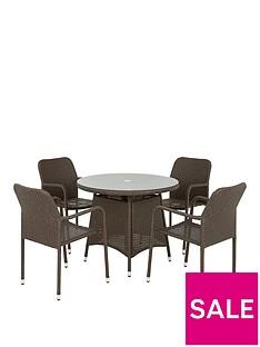 genoa-rattannbsp5-piece-dining-set