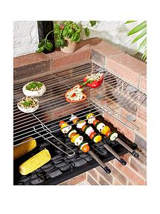 built-in-charcoal-bbq