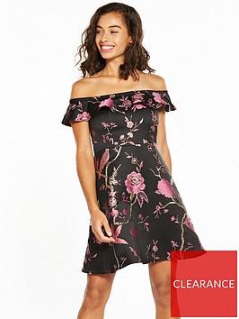v-by-very-petite-premium-jacquard-prom-dress