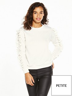 v-by-very-petite-pearl-trim-scuba-sweat