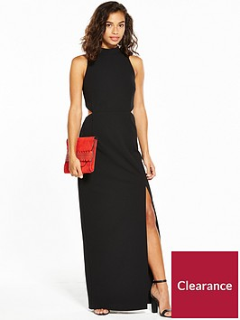 v-by-very-petite-cut-out-side-maxi-dress