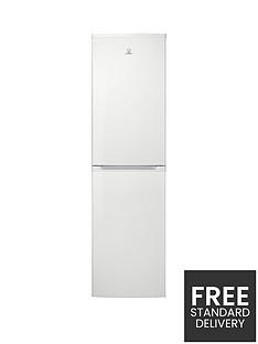 indesit-cvtaa55nf-55cm-frost-free-fridge-freezer-white