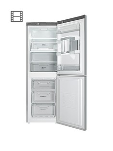 Indesit LD70NISWTD60cm Frost Free Fridge Freezer with Water Dispenser - Silver
