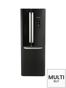 hotpoint-ffu3dgk-american-stylenbsp70cm-frost-free-fridge-freezer-black