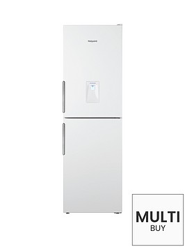 hotpoint-lal85ff1lwwtdnbsp60cm-frost-free-fridge-freezer-with-water-dispenser-white