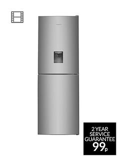 hotpoint-day-1-xal85t1igwtdnbsp60cmnbspwide-frost-free-fridge-freezer-with-water-dispenser-graphite