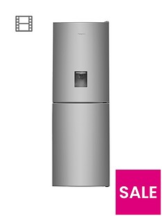 hotpoint-xal85t1igwtdnbsp60cm-frost-free-fridge-freezer-with-water-dispenser-graphite