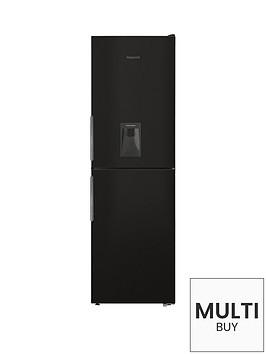 hotpoint-xal85t1ikwtdnbsp60cm-frost-free-fridge-freezer-with-water-dispenser-black