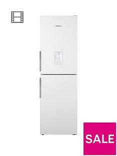 hotpoint-xal85t1iwwtdnbsp60cm-frost-free-fridge-freezer-with-water-dispenser-white