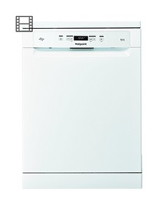 Hotpoint Ecotech HFO3C22WF14-Place Full Size Dishwasher - White