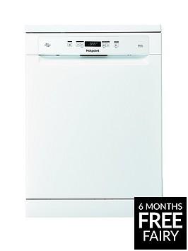 hotpoint-ecotech-hfo3c23wfnbsp14-place-full-size-dishwasher-white